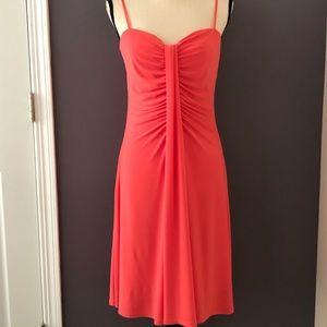 Bisou Bisou coral dress
